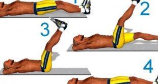 صورة تمارين عضلات البطن, التخلص من مشكلة الكرش