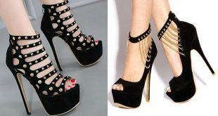 صورة احذية كعب عالي, افضل انواع وموديلات احذيه