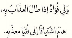 صورة قصائد حب عربية ,اروع الكلمات المعبره عن الحب
