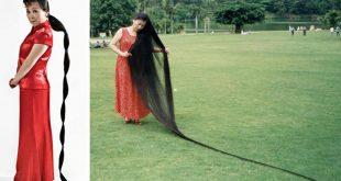 صورة اطول شعر في العالم, صاحبه اطول شعر ف الكون