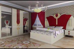 صورة غرف نوم للعرسان كامله , واو اروع الغرف التحفة والمذهلة
