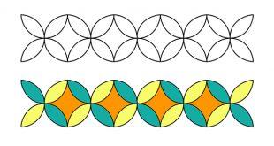 صورة زخرفة هندسية , واو ما اجمل هذه الاشكال المذهلة