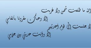 صورة عمرى ماسمعت وصف وشعر اعظم من كده, شعر عن الرسول