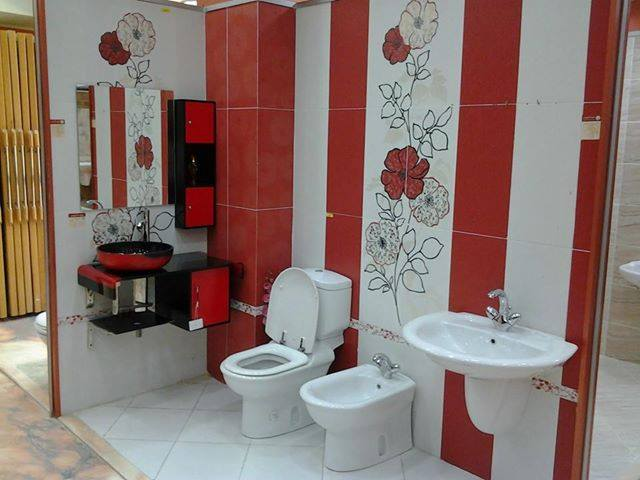 صورة اجمل ديكورات حمامات , اشكال سيراميك حمامات