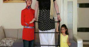 صورة اجذب إمرة في الطول , اطول امراة في العالم