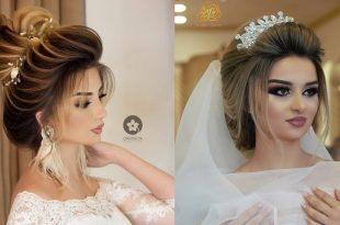 صورة خليكى مميزة فى ليله العمر بهذه التسريحه , اجمل تسريحات العروسة