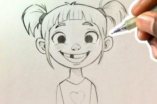صورة اتعلم الرسم بمنتهى السهوله , كيف ترسم الكرتون