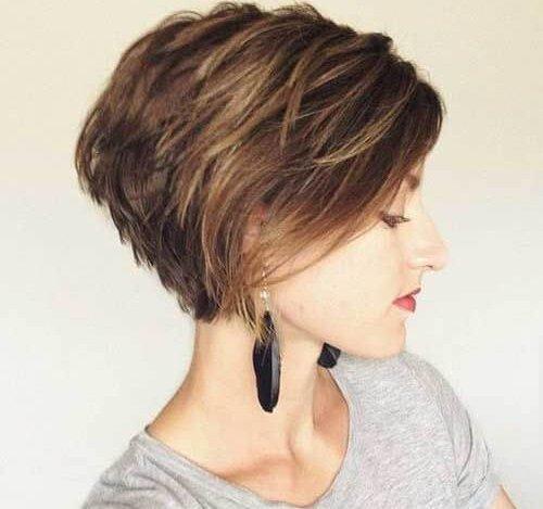 صورة تعرفى على انواع قصات الشعر , اسماء قصات الشعر القصير 6031 1