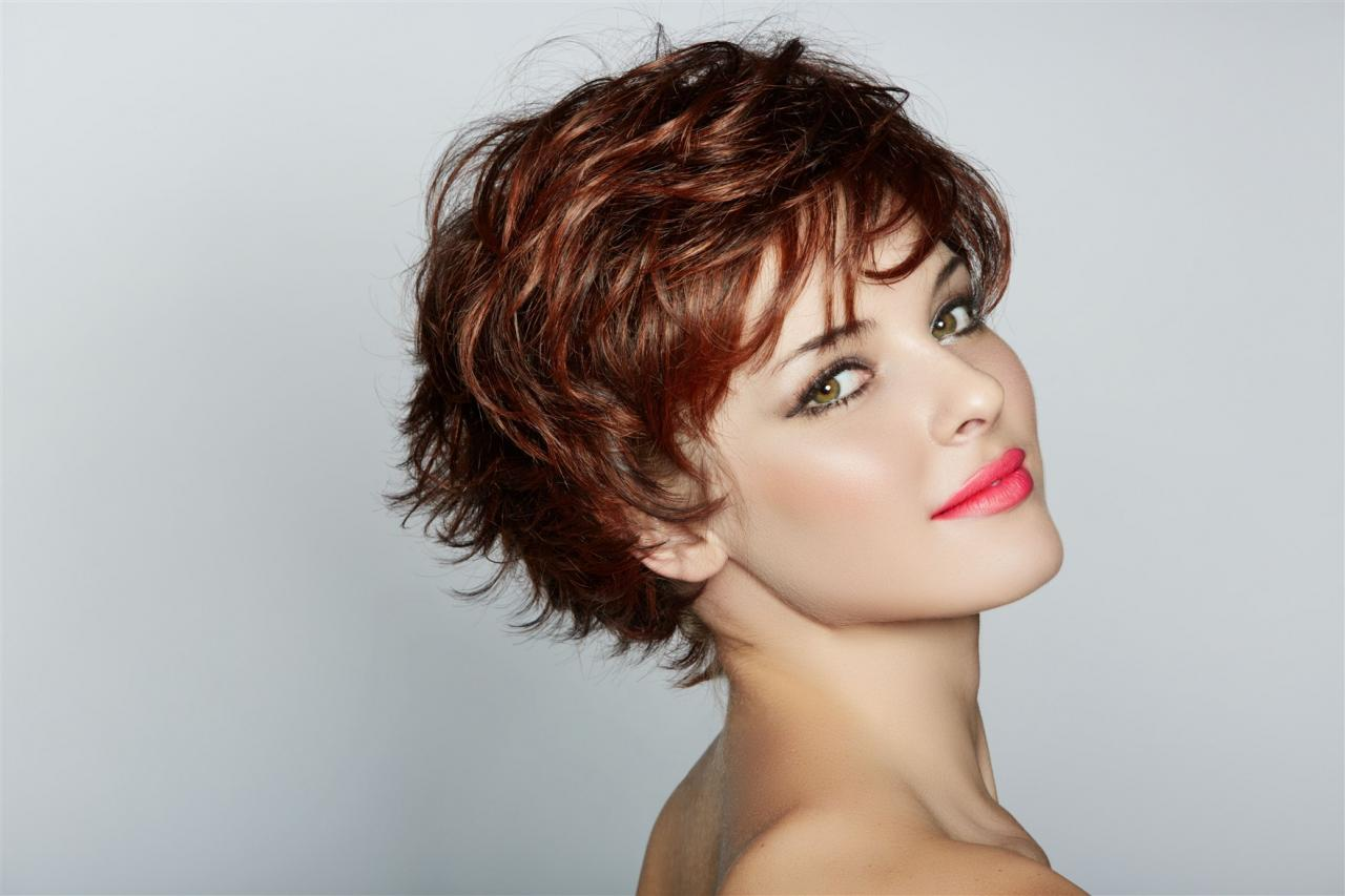 صورة تعرفى على انواع قصات الشعر , اسماء قصات الشعر القصير 6031 2